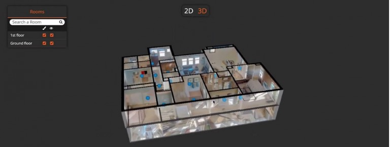 Doll House Technology Takes 3D Tours to another level